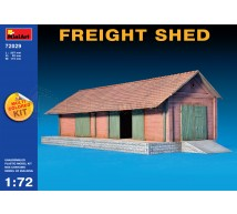 Miniart - Freight shed 1/72