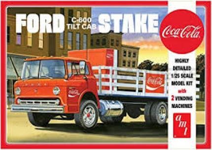 Amt - C-600 stake truck Coca Cola