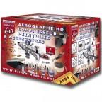 Prince August - Coffret Aero HD Compresseur & peintures