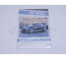 Pit Wall - Ford Fiesta RS WRC M SPORT