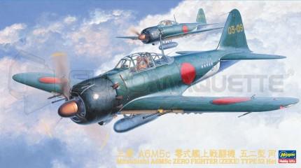 Hasegawa - A6M5c Zero type52 Hei